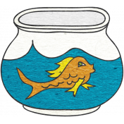 Look, A Book!- Fish Bowl Doodle 2