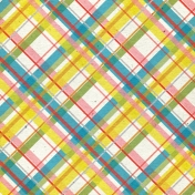 Look, A Book!- Plaid Paper