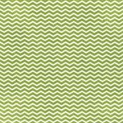 Look, A Book!- Green Chevron Paper