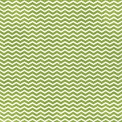 Look, A Book!- Green Chevron Paper