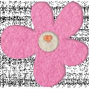 Good Day- Felt Flower Doodle 5