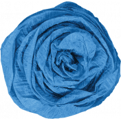 Good Day- Blue Paper Flower