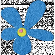 Good Day- Felt Flower Doodle 1