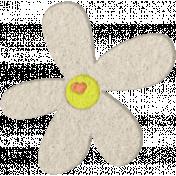 Good Day- Felt Flower Doodle 6