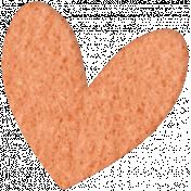 Good Day- Felt Heart Doodle 2