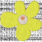 Good Day- Felt Flower Doodle 2