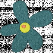 Good Day- Felt Flower Doodle 3
