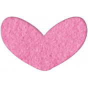 Good Day- Felt Heart Doodle 1