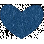 Good Day- Felt Heart Doodle 3
