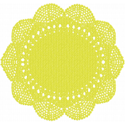 Good Day- Yellow Doily