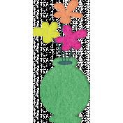 Good Day- Felt Vase Doodle