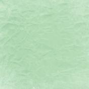 Good Day- Light Green Crinkled Paper