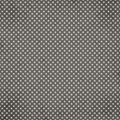 Good Day- Gray Dots Paper