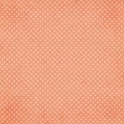 Good Day- Orange Dots Paper