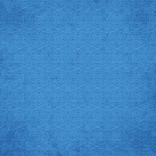 Good Day- Blue Ornamental Paper