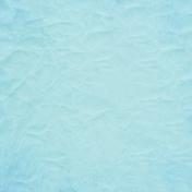 Good Day- Light Blue Crinkled Paper