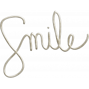 Good Day- Smile Word Art