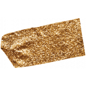 Glitter Washi Tape- Brown Tape