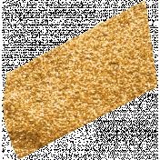 Glitter Washi Tape- Dark Orange Tape