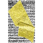 Glitter Washi Tape- Light Yellow Tape
