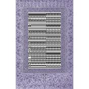 Winter Arabesque- Frame