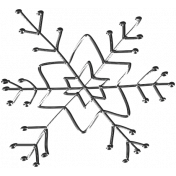 Winter Arabesque- Snowflake Doodle 1