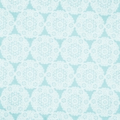 Winter Arabesque- Doily Paper