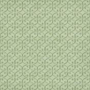 Fresh Start- Green Ornamental Paper