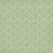 Fresh Start- Green Ornamental Paper