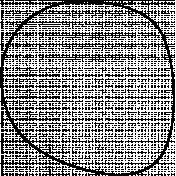 Circle Doodle Template 008