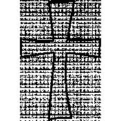 Cross Doodle Template 001