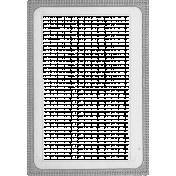 Vintage Paper Frame Template 009