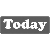 Today Word Art Template