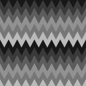 Layered Chevron Paper Template