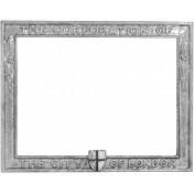 Metal Frame Template 014