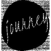 Journey Word Art Template