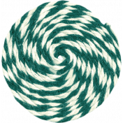 Reflections of Strength- Green Twin Swirl
