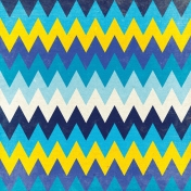 Reflections of Strength- Chevron Paper