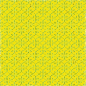 Reflections of Strength Mini Kit- Yellow Ornamental Paper