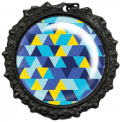 Reflections of Strength- Triangle Border Button