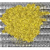 Reflections of Strength- Yellow Glitter Splatter