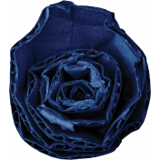 Reflections of Strength- Dark Blue Cardboard Flower