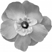 Fabric Flower Template 051