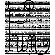 Doodle Word Art Template 030
