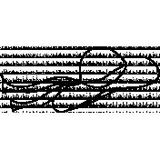Hat Doodle Template 003