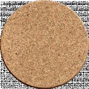 Work Day- Circle Corkboard