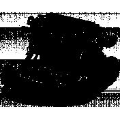 Typewriter Stamp Template 001
