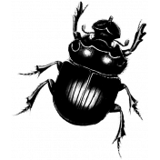 Insect Stamp Template 049