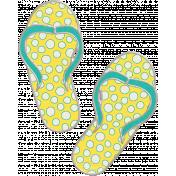 Summer Splash- Flip Flop Doodle