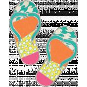 Summer Splash- Flip Flop Doodle 2